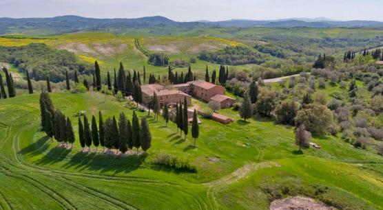 Azienda agricola vicino Montalcino