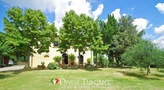 Casale ristrutturato vicino Montepulciano