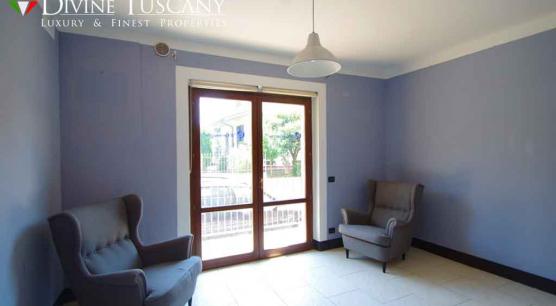 Appartamento con giardino vicino Montepulciano