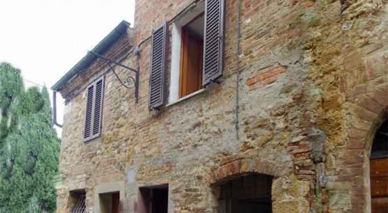 Terratetto indipendente nel centro storico di Pienza