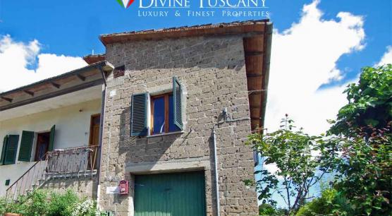 Porzione di villa indipendente a Montepulciano