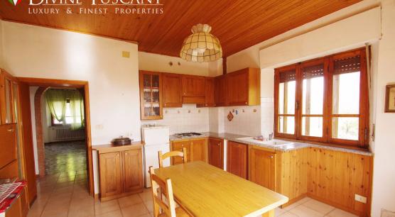 Luminoso appartamento in vendita vicino Pienza